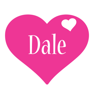 Dale love-heart logo