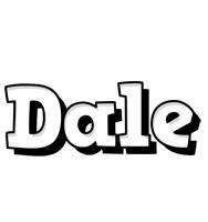 Dale snowing logo