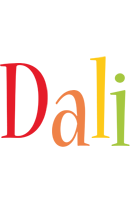 Dali birthday logo