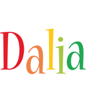 Dalia birthday logo