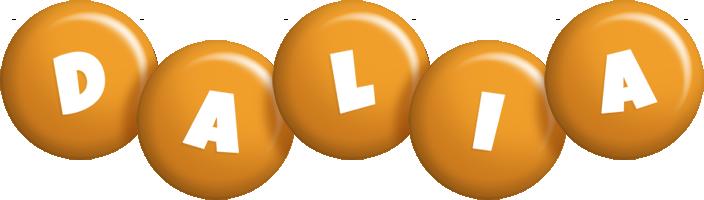 Dalia candy-orange logo