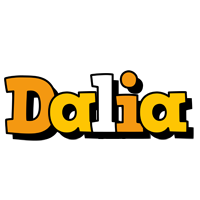 Dalia cartoon logo
