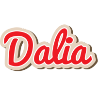 Dalia chocolate logo