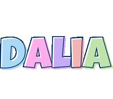 Dalia pastel logo