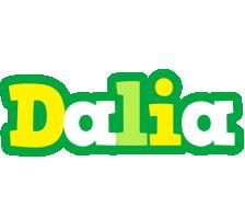 Dalia soccer logo