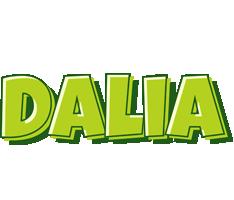 Dalia summer logo