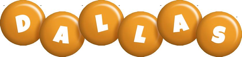 Dallas candy-orange logo