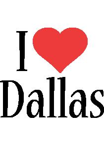 Dallas i-love logo