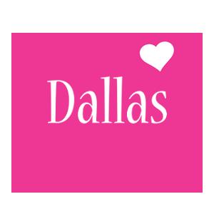 Dallas love-heart logo