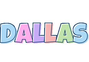 Dallas pastel logo
