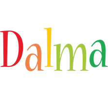 Dalma birthday logo