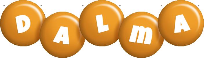 Dalma candy-orange logo