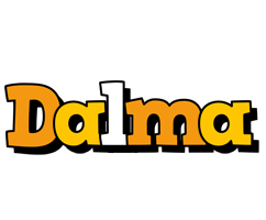 Dalma cartoon logo