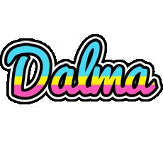 Dalma circus logo