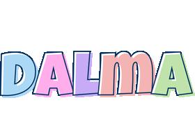 Dalma pastel logo