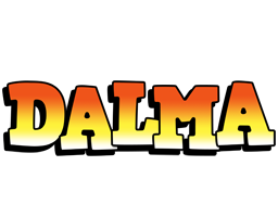 Dalma sunset logo