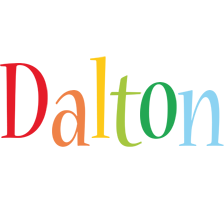 Dalton birthday logo