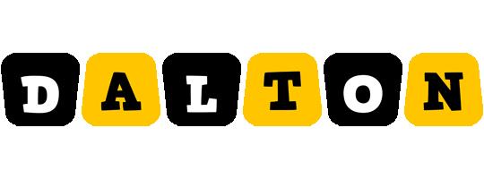 Dalton boots logo