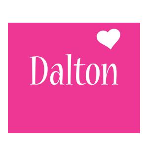 Dalton love-heart logo