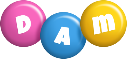 Dam candy logo