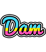 Dam circus logo