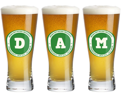 Dam lager logo
