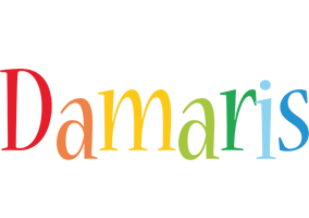 Damaris birthday logo