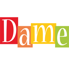 Dame colors logo