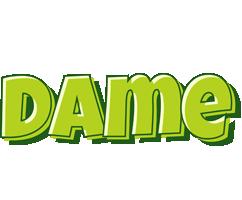 Dame summer logo