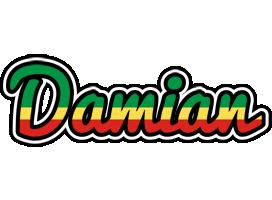 Damian african logo