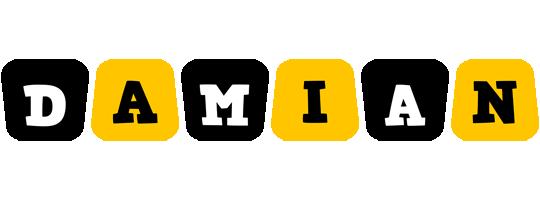 Damian boots logo