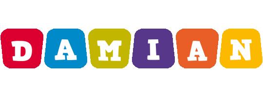 Damian daycare logo