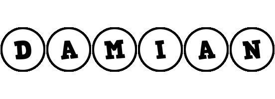 Damian handy logo