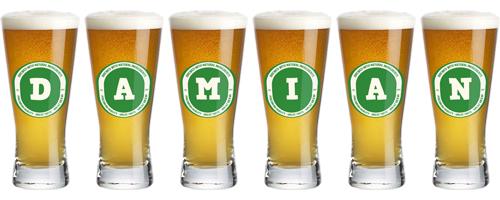 Damian lager logo