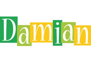 Damian lemonade logo