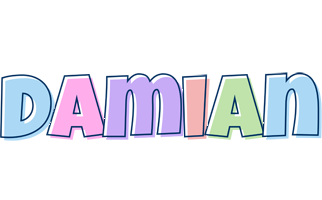 Damian pastel logo
