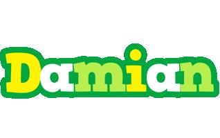 Damian soccer logo