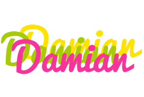 Damian sweets logo