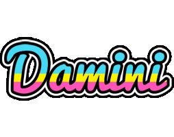 Damini circus logo