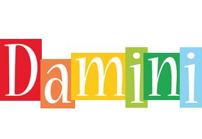 Damini colors logo