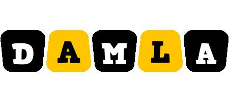 Damla boots logo
