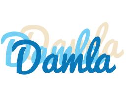 Damla breeze logo