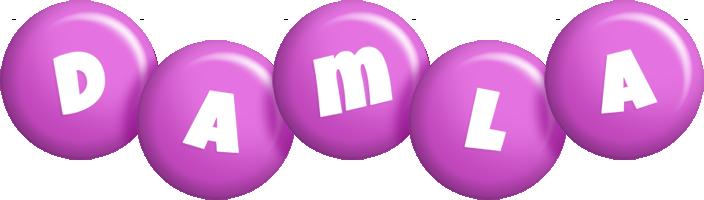 Damla candy-purple logo