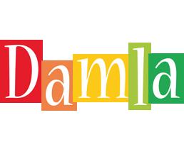 Damla colors logo