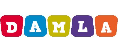 Damla daycare logo