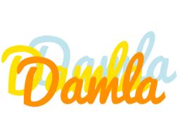Damla energy logo