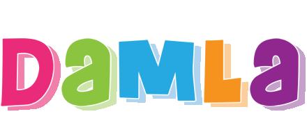Damla friday logo