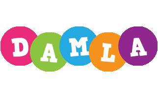 Damla friends logo