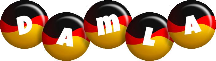 Damla german logo