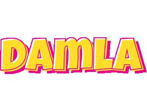 Damla kaboom logo